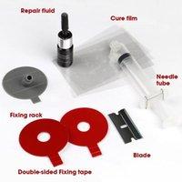 Araba Temizleme Araçları DIY Cam Tamir Takımı Cam Cam Aracı Bullseye Star Half-Moon Cracks veya Kombinasyon için Set
