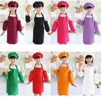 NEW Kids Aprons Cooking Baking Art Painting Kids 10 colors K...