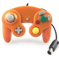 Gamepad cablato per Nintend NGC GC per controller GameCube per Wii Wiiu Joystick Joypad 100pcs / lot