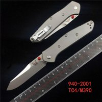 BENCHMADE 940- 2001 TC4 Osborne folding knife titanium alloy ...