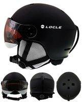 Skihelme Skifahren Helm Ultralight PC + EPS CE EN1077 Männer Frauen im Freien Sport Snowboard / Skateboard