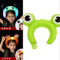 Globos de banda para el cabello noctiluciente Niño para adultos Globo LED portátil Encantador de cabeza Hoop Venta caliente con varios estilo 0 93HG J1