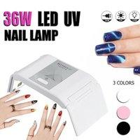 36W светодиодные мини-лампы для ногтей лампа для ногтей лампа для лампы для ногтей УФ-светодиодный портативный Micro USB-кабель для дома Использование для геля