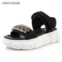 CDPUNDARI Sandalias para mujer Sandalias Planas Sandalias Sandalias Summer Shoes1