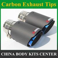 ماتي + أسود الفولاذ المقاوم للصدأ akrapovic سيارة العادم الكربون عادم الطرف الطرف التصميم أنبوب كاتم الصوت غيض للأجزاء العالمي 1