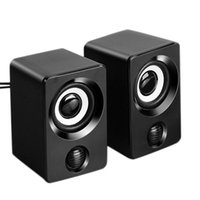 Surround Computer Speakers with Stereo USB Wired Powered Multimedia Speaker for PC Laptops Smart Phone