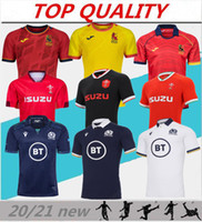 2020 2021 Rugby World Cup Jersey Wales Red Trikots 20 21 Rugby League Spanien Rugby Shirts Schottland Fiji Tonga Hemden