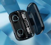 Bluetooth 5.1 2000mAh Power Bank Наушники Спорт гарнитура M10 TWS Wireless Earbuds против b10 b11 f9 для iPhone 11 12 Самсунга вселенской