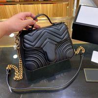 2020 épaule luxe marque de mode concepteur dames sac à main porte-monnaie classique en cuir souple d'embrayage de haute qualité pliable sac à main fannypack