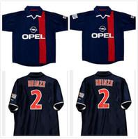 2001 2002 Ronaldinho Retro Jersey de fútbol 01 02 Anelka Okocha Heinze Pochettino Arteta Aloisio Camisa de fútbol vintage clásico