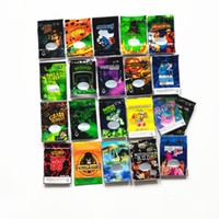 Joke's Up Mean Green Highkuken 3.5g Synergy WiFi OG Resinevil Gorilla Glue Bag Synergy Bag odore a prova di borse Mylar