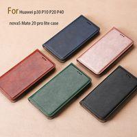 Wholesale Advanced Mobile Phone Holder Card Type Business Case For Huawei P30 P10 P20 P40 Nova5 Mate 20 Pro Lite Case