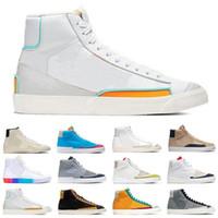 2021 Blazer 77 Erkek Kadın Koşu Ayakkabıları Donanma Kumquat Susam Dorothy Gaters Hack Paketi İyi Bir Oyun Erkek Eğitmen Spor Sneakers