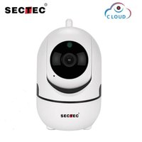 Sectec 1080p Cloud Wireless IP Cámara IP Inteligente Auto Seguimiento de la Vigilancia de Seguridad Interior Smart Inicio Red CCTV WIFI CAM1