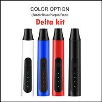델타 허브 기화기 펜 키트 2200mAh 온도 제어 드라이 허브 기화기 모드 초본 펜 키트 4 색