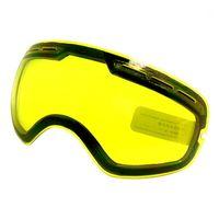 نظارات التزلج عدسة uv400 التزلج على الجليد نظارات نظارات سلايتين لضعف ضوء غائم ل GOG-201 / S-3100 (عدسة فقط) 1