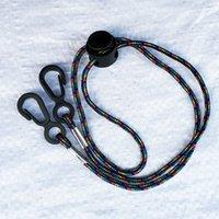 Corda de corda de suspensão ganchos de face máscara colar titular corda de segurança capa cabide chapinha chaves garganta cor cabo cord sling decote 0 8dr c2