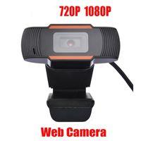 HD 웹캠 웹 카메라는 초당 30 프레임 720P / 1080P PC 내장 재고 있음 마이크 USB 2.0 비디오 녹화를위한 컴퓨터 PC 노트북을 사운드 흡수