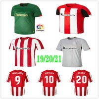 2020 2021 Tailandesa Qualidade Jerseys de futebol Williams Aduriz I.Martinez Benet Muniain Unai Córdoba Dani Garcia Custom Adulto Crianças Futebol Camisa