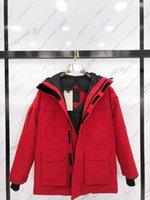 Mode Herren Daunenjacke für Winter Halten Sie Warme Casual Herren Womens Parkas Mäntel 20FW Neue Down-Mäntel Unisex Parkas Größe XS-2XL
