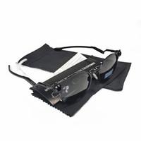 Nova Versão Top Top Sun Óculos Metal Lente Polarizada UV400 Esportes Moda Eyewear Mergulho Pesca Homens Sunglasses Modelo 4046