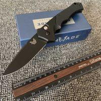 벤치 메이드 BM9600 9600BK Rukus II 자동 나이프 야외 캠핑 서바이벌 Floding 칼 BM601 BM42 자동 칼 EDC