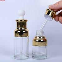Cam Kozmetik Boş Uçucu Yağ Şişesi 20ml 30 ml Sıvı Makyaj Kokulu Parfüm Temizle Konteynerler 100 adetgrood Ürün