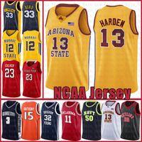 James 13 Harden NCAA Kawhi LeBron 23 James Leonard Dwyane 3 Wade Kyrie Stephen 30 Curry Irving Basketball Jersey David Robinson University