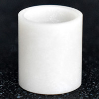 Nuovo arrivo JCVAP aln inserimento accessori per fumare accessori in alluminio inserti in ceramica in alluminio fondo piatto per messa a fuoco V Carta Atomizer sostituzione vaporizzatore cera