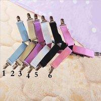 Letto clip -sheet 4 Pz regolabile pulsante Triangolo antiscivolo Materasso Fastener Holder pinze multi-disciplinare letto di EEC3233
