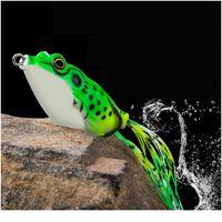 1pc 5g-15g 소프트 튜브 미끼 일본 플라스틱 개구리 소프트 낚시 미끼 고음 후크 Topwater Ray 개구리 4cm-6cm 인공 S Qylbys