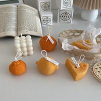 1 pc Scented velas de soja cera essencial aromaterapia vela casa decoração fragrância velas de casamento presente