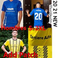 2021 Real Oviedo Soccer Trackss IBRA R. Folch Y. Bárcenas johannesson Mossa Javi Muñoz Мужские гомбры Удобные дома Голубое футболки