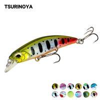 Tsurinoya 60s Hundiendo Minnow Fishing Lure Set Bass Pike Cave Bait Pesca Wobbers 60mm 6.1g Calidad Cebos duros 6pcs Y200827