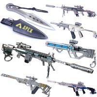 Zincir Savaş Royale Apex Efsaneler Anahtarlık Silah Modeli Anahtarlık Metal Anahtarlık