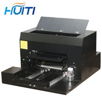 Drucker Huiti, A3 Größe, 8-farbe hochpräzise Universal-UV-Flachbettdrucker, Handy-Handy-SHELL-Weinglas-Metall-Acryldrucker