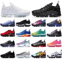 Vapormax plus tn Con Free Calzini TN Inoltre scarpe da corsa per le donne gli uomini di scarpe Designer Spirito Teal geometrica attivo Arcobaleno Mens Trainers Sport Sneakers