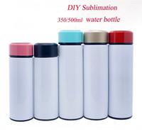 DIY Sublimation 350ml 500ml-Teebecher Reise-Becher-Edelstahl-Tee-Flasche bewegliche Wasserflasche mit Sieb