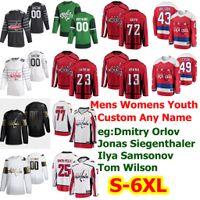 S-6XL All Star Washington Capitals jerseys del hockey de 20 Lars Eller Chandler Stephenson Brenden Dillon Brooks Orpik Carl Hagelin cosido personalizada