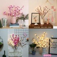 Kelebek Orkide Kiraz Renkli Işıklar Aile Yatak Odası Pratik Dekoratif Lambalar Yurdu LED Ağaç Lambası Yüksek Kalite 11 58HH J2
