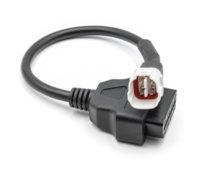 OBD Motosiklet Kablosu Yamaha 3 pin / 4 pin fiş kablosu teşhis kablosu 3pin / 4pin OBD2 16 PIN adaptörü