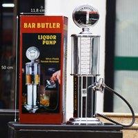 Mini Máquina dispensadora de cerveza Máquina de jugo de té Buques de bebida de pistola Dispensadores de bomba de pistola Metal Plastic Gas Station Party Bar Beber para vino de cerveza