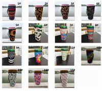 Reusable 20oz Tumbler Holder Borse Borse ICED Tazza di caffè in neoprene Manicotti isolati in neoprene Tazze Tazze Copertura per bottiglia d'acqua con cinturino