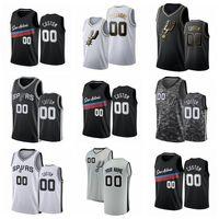 HomensSanAntonioSpurs Demar Derozan Lamarcus Aldridge Rudy Gay Dejount Murray Qualquer jogador personaliza uma camisola de basquete
