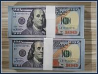 2020 Горячие US New Banknote Dollar Fake 100 Goneet Money 09 Образование Образование Репортажи Toys 5 бар Продам обучение GWNGA
