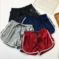 Big Size Casual Fitness Booty Shorts Women's Loose Drawstring High Waist Silk Short Girls Summer Casual Plus Size Shorts 4XL 5XL Y200512
