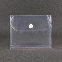شفافة تخزين مستحضرات التجميل حقائب النسائية زر حقيبة ماكياج مقاوم للماء واضحة سفر منظم الحقيبة SN4804