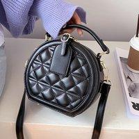 Diamond Lattice Mini Biscoito Bolsa de Couro Pu sacos de ombro para mulheres bolsas e bolsas de mão Designer de alta qualidade de alta qualidade