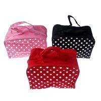 Alta qualidade Multifunction Makeup Organizer Bag Durable Mulheres Cosméticos sacos Dot Travel Bag Handbag Drop Shipping