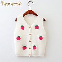 Urso líder meninas suavers outono macio meninas meninas jaqueta camisola desenhos animados padrão panda crianças roupas aquecidas crianças roupas